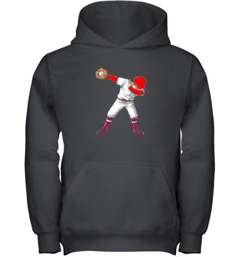 Dabbing Baseball T Shirt Funny Dab Dance Shirts Boys Girls Youth Hoodie