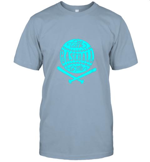2zwo talk baseball to me groovy ball bat silhouette jersey t shirt 60 front light blue