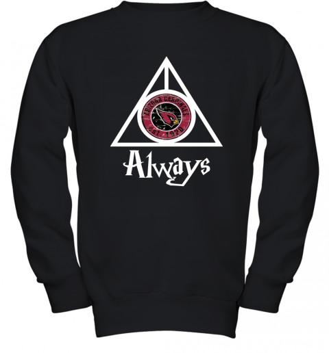 Arizona Cardinals x Harry Potter Mashup Youth Sweatshirt