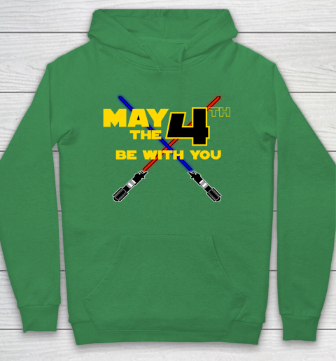 Star Wars Shirt May the Fourth Be With You Lightsaber Hoodie 5