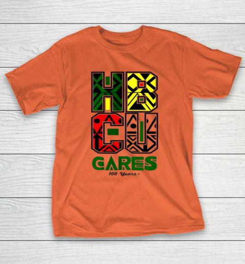 HBCU Cares College University Graduation Gift Black Schools T-Shirt 3