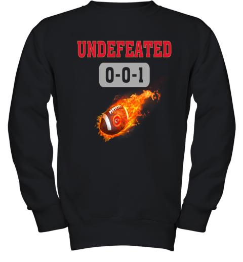 NFL KANSAS CITY CHIEFS LOGO Undefeated Youth Sweatshirt