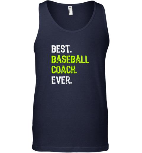 fdt1 best baseball coach ever funny gift unisex tank 17 front navy