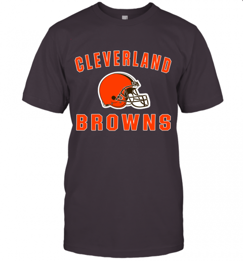 6lfm cleveland browns nfl line by fanatics branded brown victory jersey t shirt 60 front dark grey