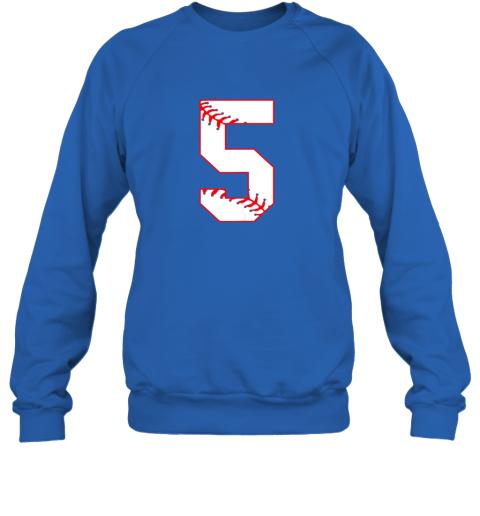 5jxy cute fifth birthday party 5th baseball shirt born 2014 sweatshirt 35 front royal