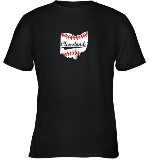 Cleveland Ohio 216 Baseball Youth T-Shirt