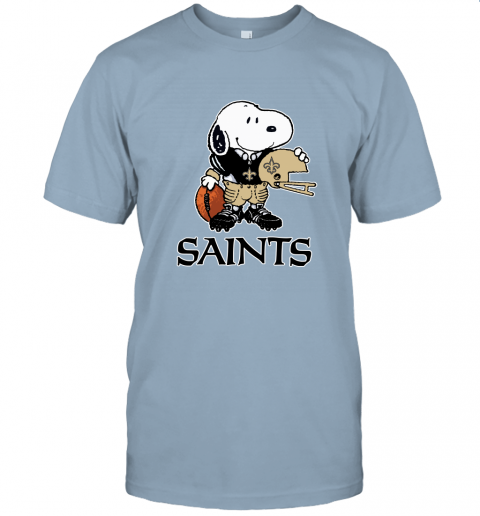 Snoopy A Strong And Proud New Orleans Saints Player NFL Unisex Jersey Tee