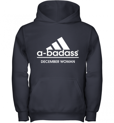 A Badass December Women Are Born In March Youth Hoodie