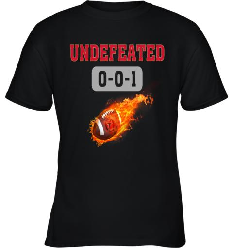 NFL ATLANTA FALCONS Logo Undefeated Youth T-Shirt