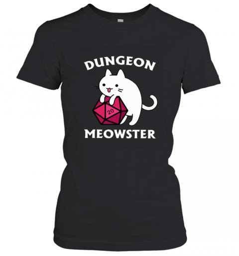 Dungeon _ Dragons Dungeon Meowster Master Cat Women's T-Shirt