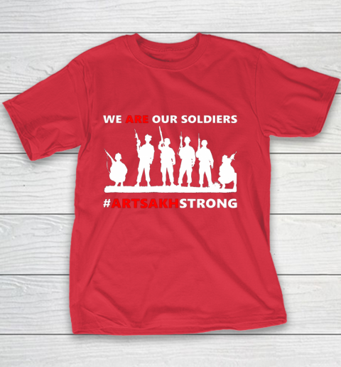 We Are Our Soldiers Youth T-Shirt 15