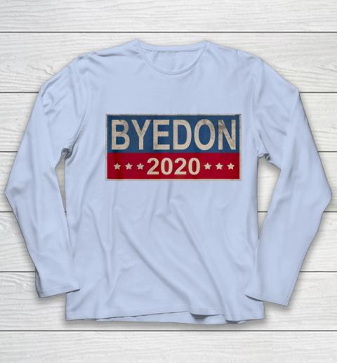 Bye Don 2020 ByeDon Button Joe Biden Funny Anti Trump Youth Long Sleeve 5