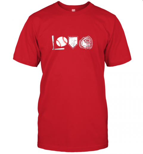 aukp i love baseball baseball heart jersey t shirt 60 front red