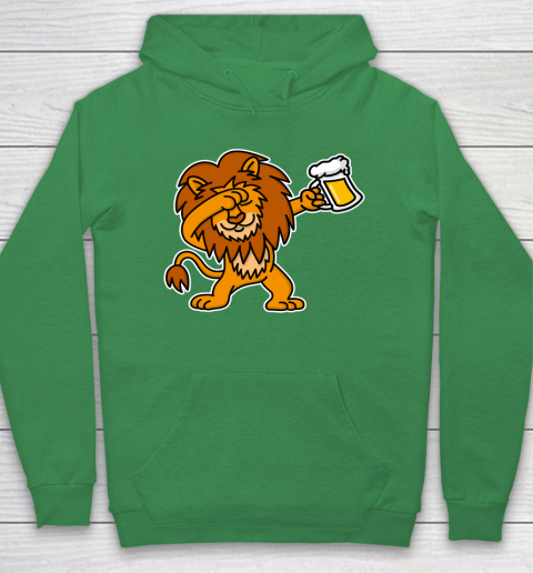 Beer Lover Funny Shirt Dab Dabbing Lion Beer Dutch King's Day King Lions Hoodie 5