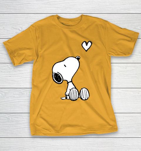 Peanuts Valentine Snoopy Heart T-Shirt 2