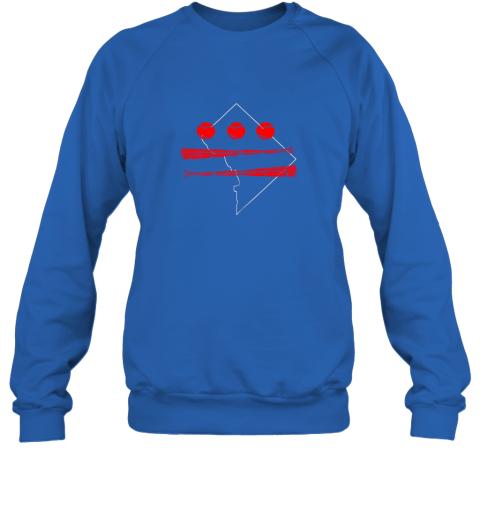 ovti washington dc map capitol baseball flag sweatshirt 35 front royal