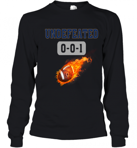 NFL DALLAS COWBOYS LOGO Undefeated Youth Long Sleeve T-Shirt