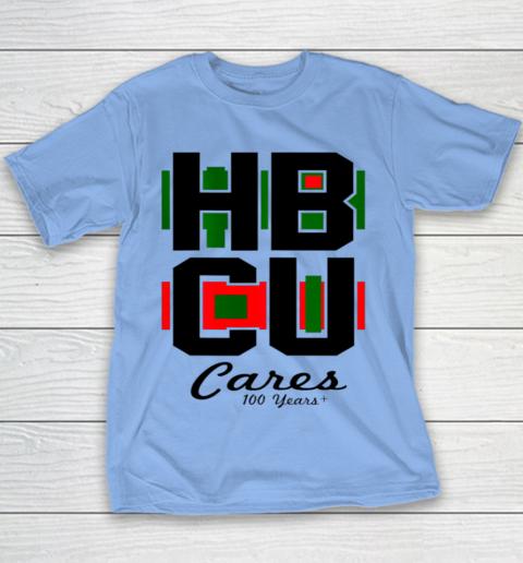 HBCU Cares College University Graduation Gift Black School Youth T-Shirt 7
