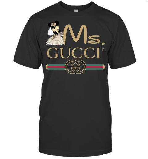 Gucci Couple Disney Ms Minnie Valentine's Day Gift Mens T-Shirt