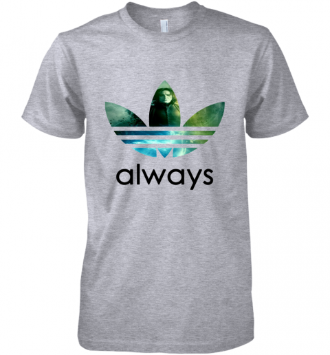 cujs adidas severus snape always harry potter shirts premium guys tee 5 front heather grey