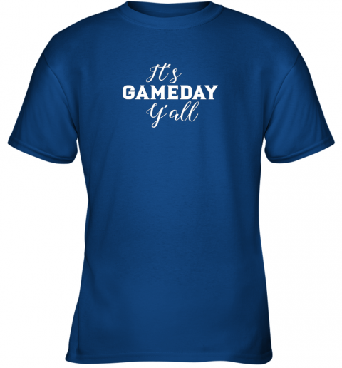 ywng it39 s game day y39 all football baseball basketball youth t shirt 26 front royal