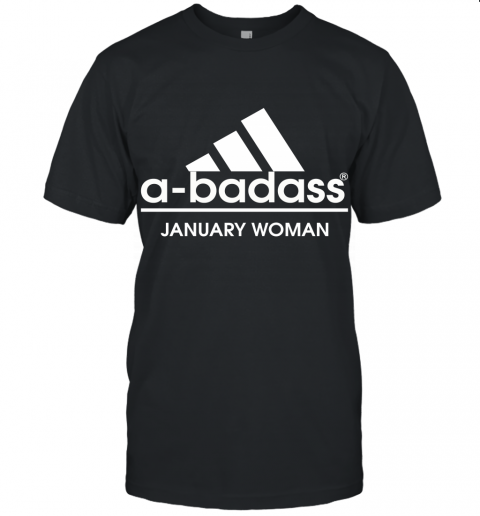 A Badass January Woman Are Born In March Unisex Jersey Tee