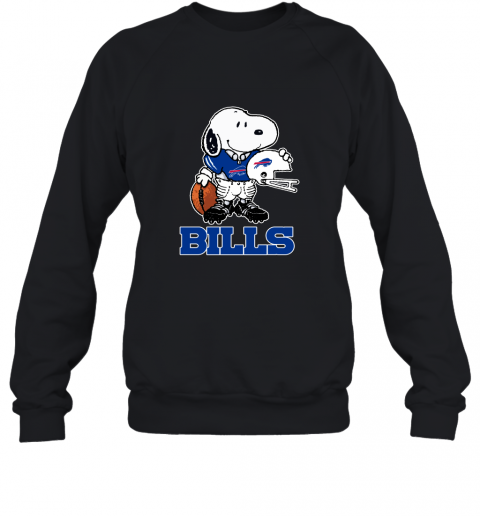 Snoopy A Strong And Proud Buffalo Bills Player NFL Sweatshirt