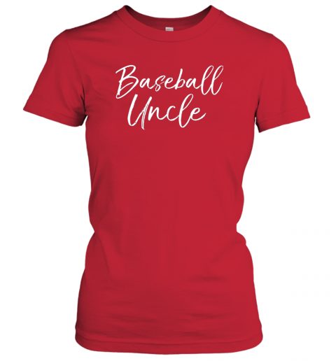 prsi baseball uncle shirt for men cool baseball uncle ladies t shirt 20 front red