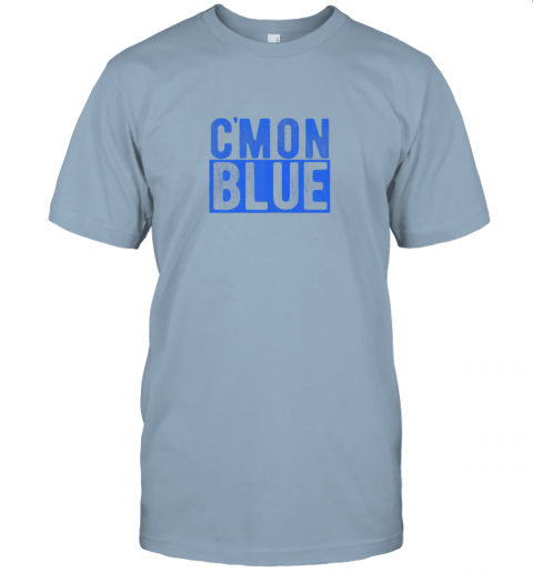 xmuo cmon blue umpire baseball fan graphic lover gift jersey t shirt 60 front light blue