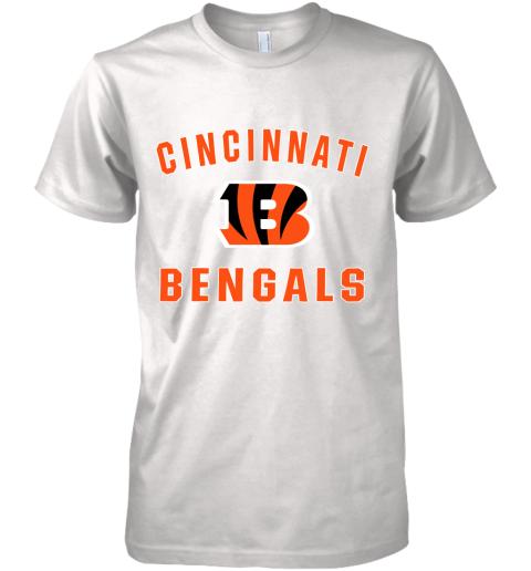 Cincinnati Bengals NFL Pro Line Gray Victory Premium Men's T-Shirt