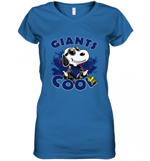 u7fu new york giants snoopy joe cool were awesome shirt women v neck t shirt 39 front royal