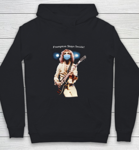 Peter Frampton Covid Stays Inside Youth Hoodie