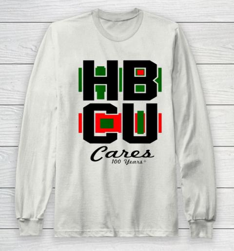 HBCU Cares College University Graduation Gift Black School Long Sleeve T-Shirt 9