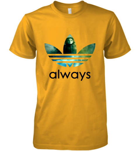 cujs adidas severus snape always harry potter shirts premium guys tee 5 front gold