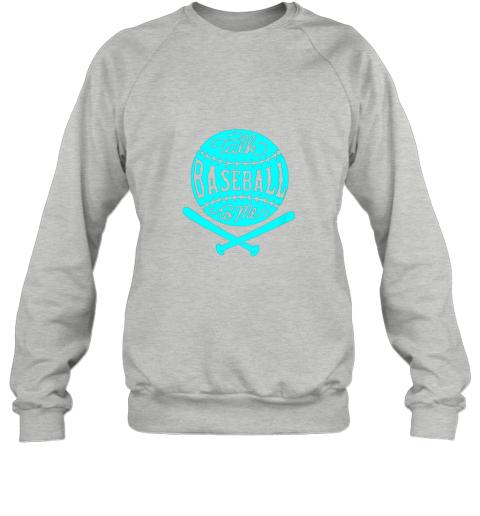 1lxx talk baseball to me groovy ball bat silhouette sweatshirt 35 front sport grey