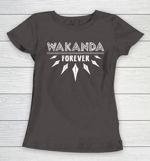 Wakanda Forever Black Panther Women's T-Shirt 7
