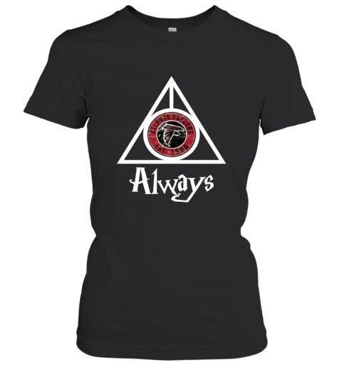 Always Love The Atlanta Falcons x Harry Potter Mashup NFL Women's T-Shirt