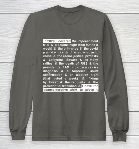 Jim Acosta Long Sleeve T-Shirt 5