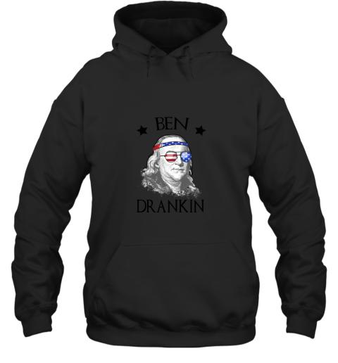 Day 4th Of July Ben Drankin Benjamin Franklin Hoodie