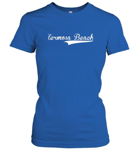 nszm hermosa beach baseball softball styled ladies t shirt 20 front royal