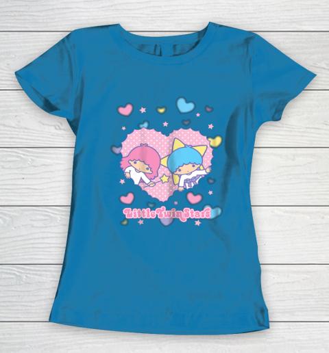 Little Twin Stars Retro Logo Valentine Women's T-Shirt 6
