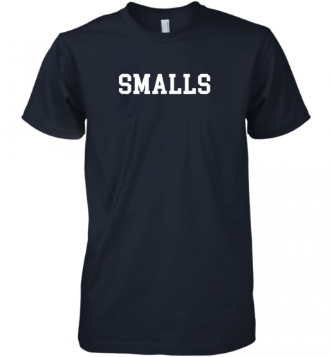 wabs smalls shirt funny baseball gift premium guys tee 5 front midnight navy