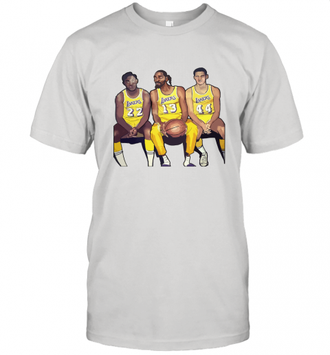Elgin Baylor x Snoop Dogg x Jerry West Funny Unisex Jersey Tee