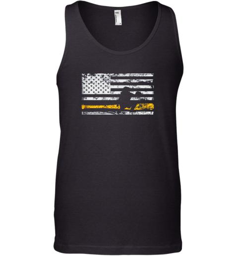 Softball Catcher Shirts Baseball Catcher American Flag Tank Top