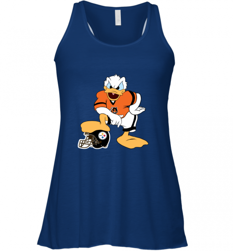 q71q you cannot win against the donald cincinnati bengals nfl flowy tank 32 front true royal