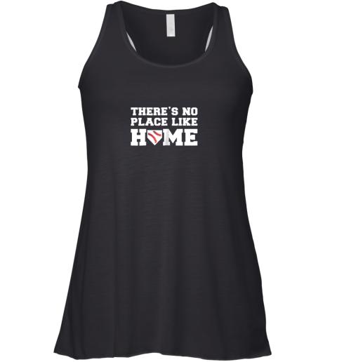 There's No Place Like Home Baseball Shirt Kids Baseball Tee Racerback Tank