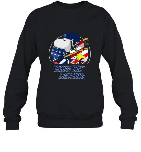 Tampa Bay lightning  Snoopy And Woodstock NHL Sweatshirt