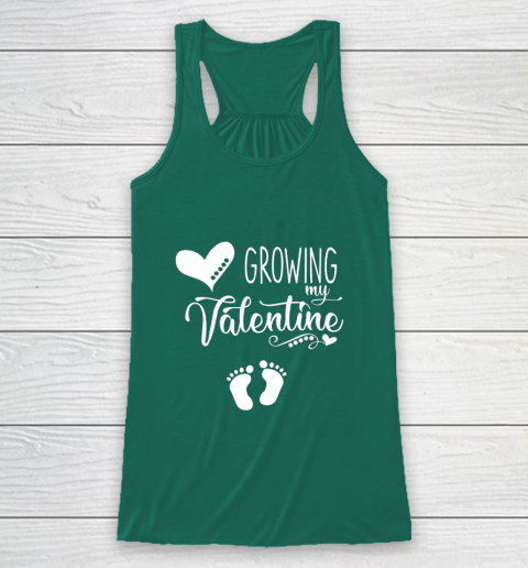 Growing my Valentine Tshirt for Wife Racerback Tank 5