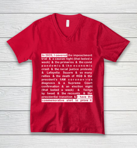 Jim Acosta V-Neck T-Shirt 6