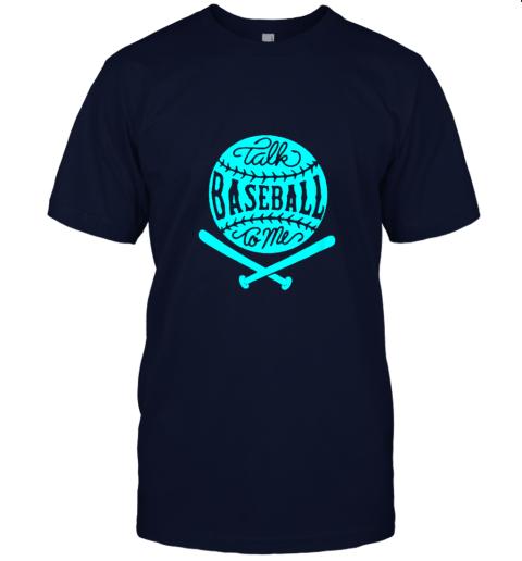 2zwo talk baseball to me groovy ball bat silhouette jersey t shirt 60 front navy